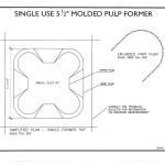 SPS Grascrete Molded Pulp Former System - Part Plan