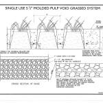 SPS Grasscrete Molded Pulp Former System - Void Grassed