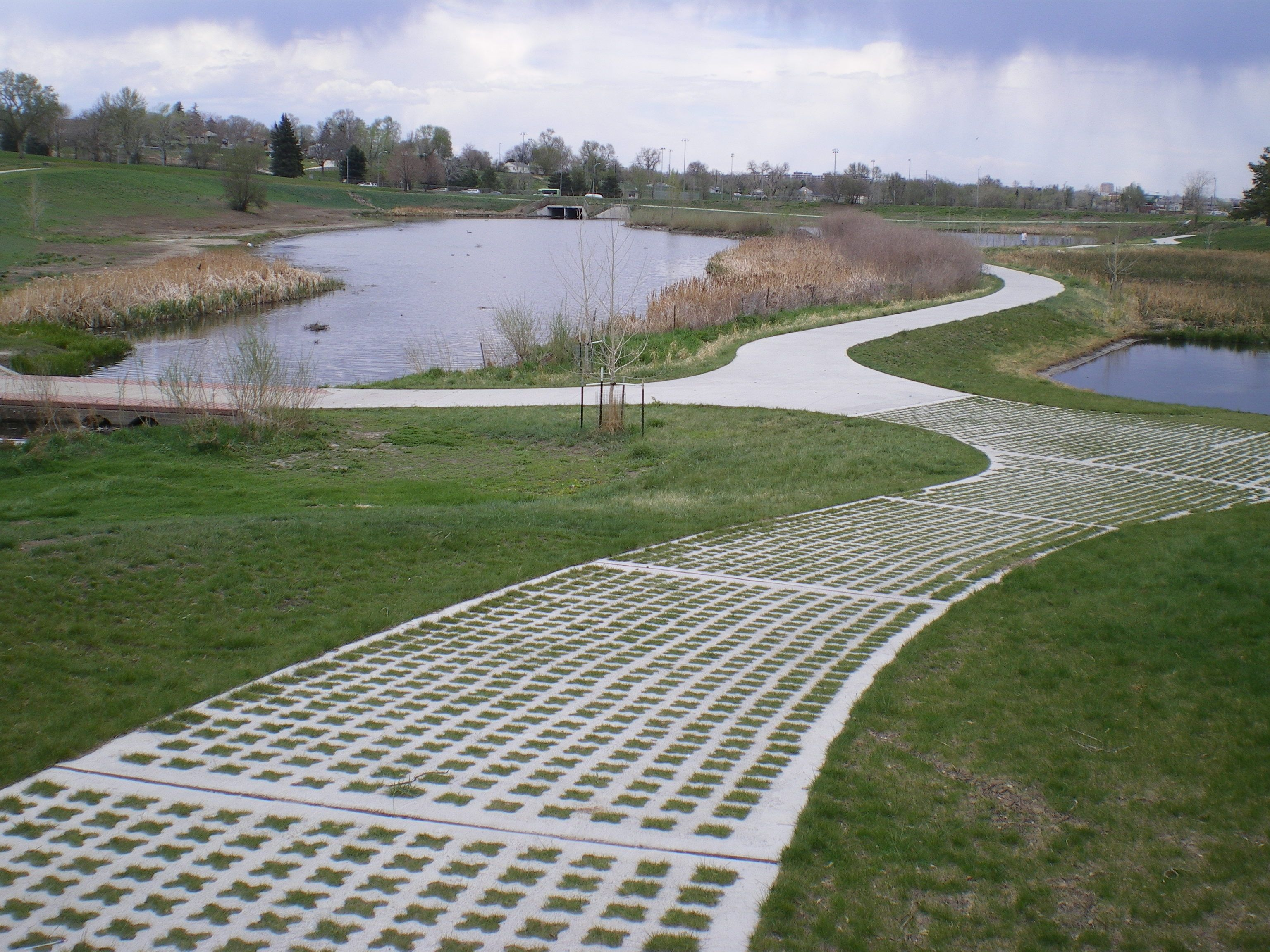 Sustainable Paving Systems Grasscrete Pavements Gallery