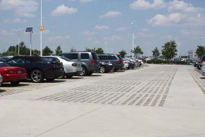 JP Morgan Chase Bank Eco-Friendly Parking Lot