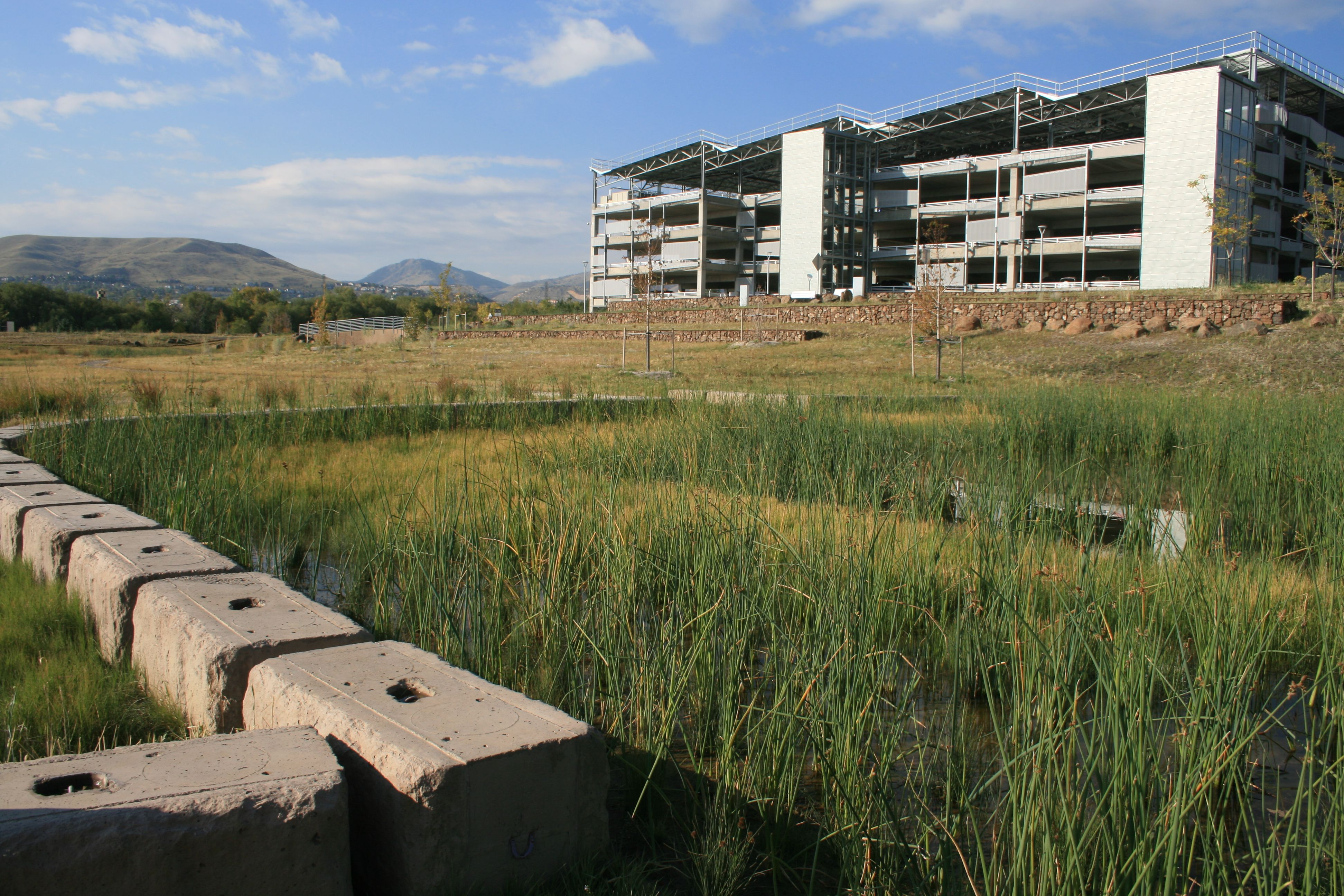 Grasscrete - NREL Detention Pond - 01