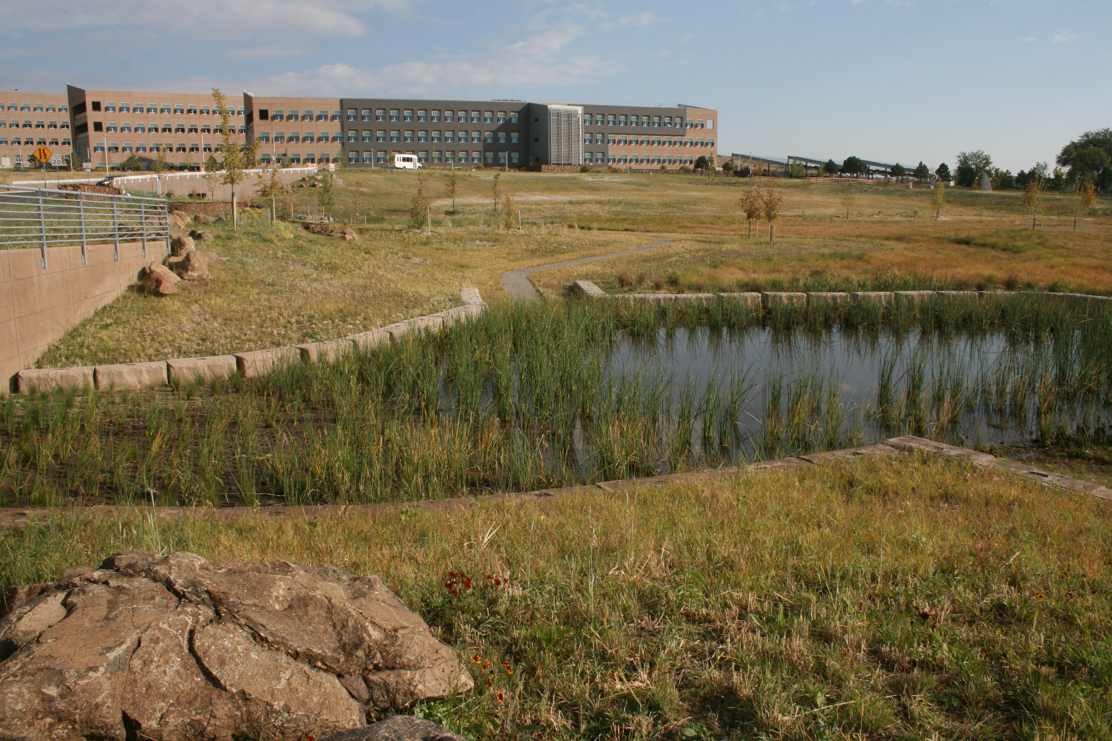 Grasscrete - NREL Detention Pond - 09