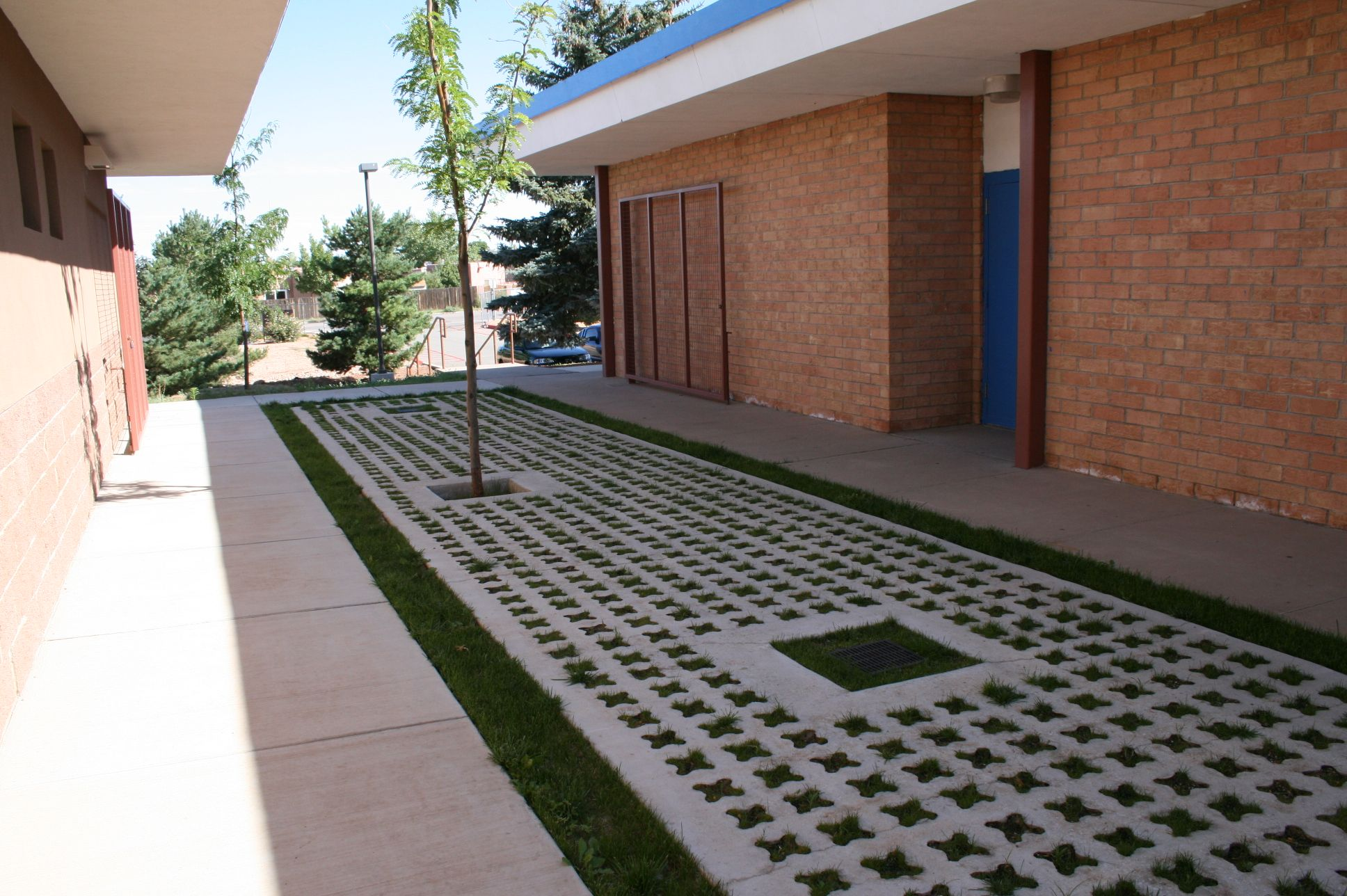 Grasscrete - St. Mikes School - 03