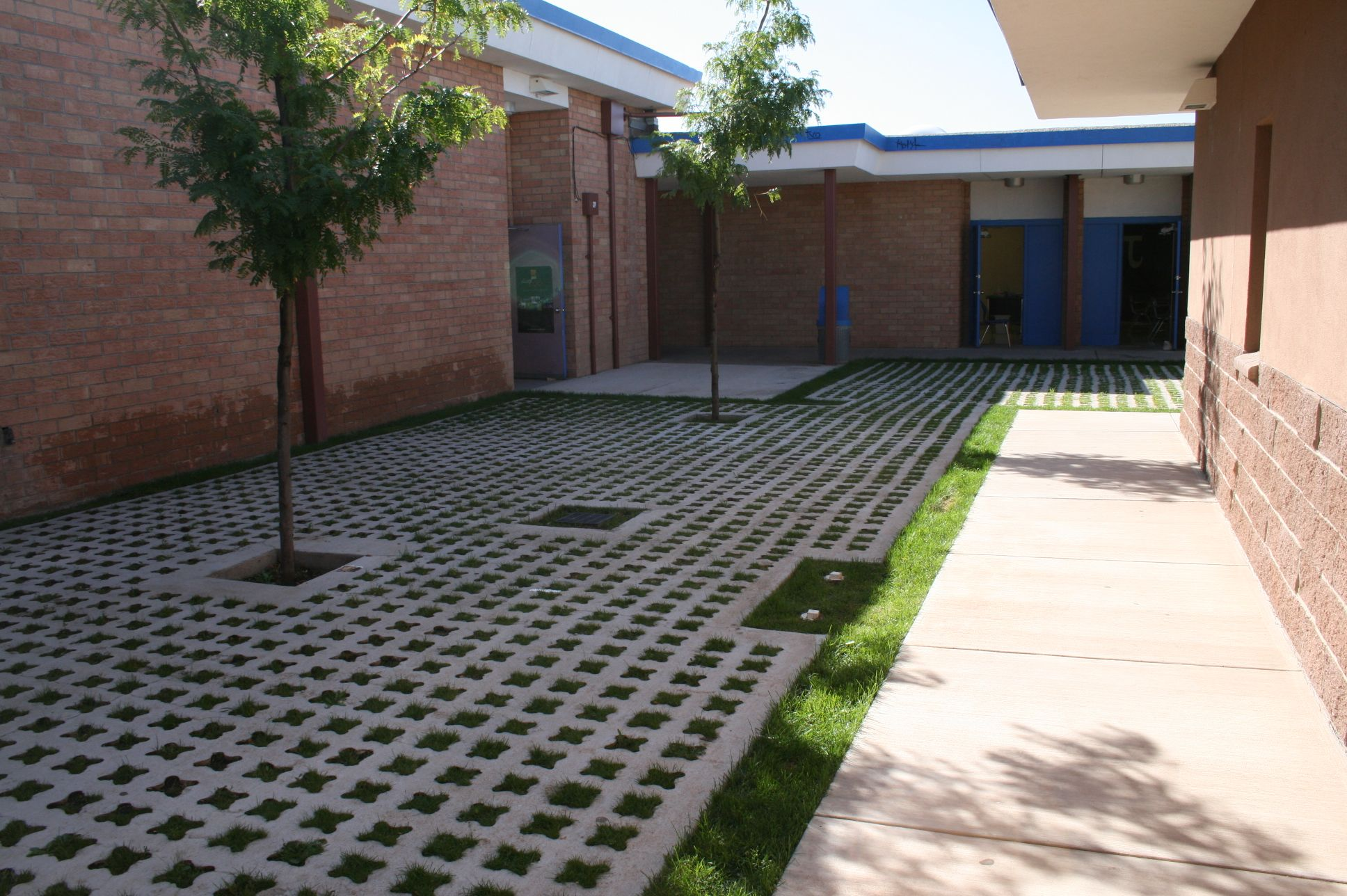 Grasscrete - St. Mikes School - 05