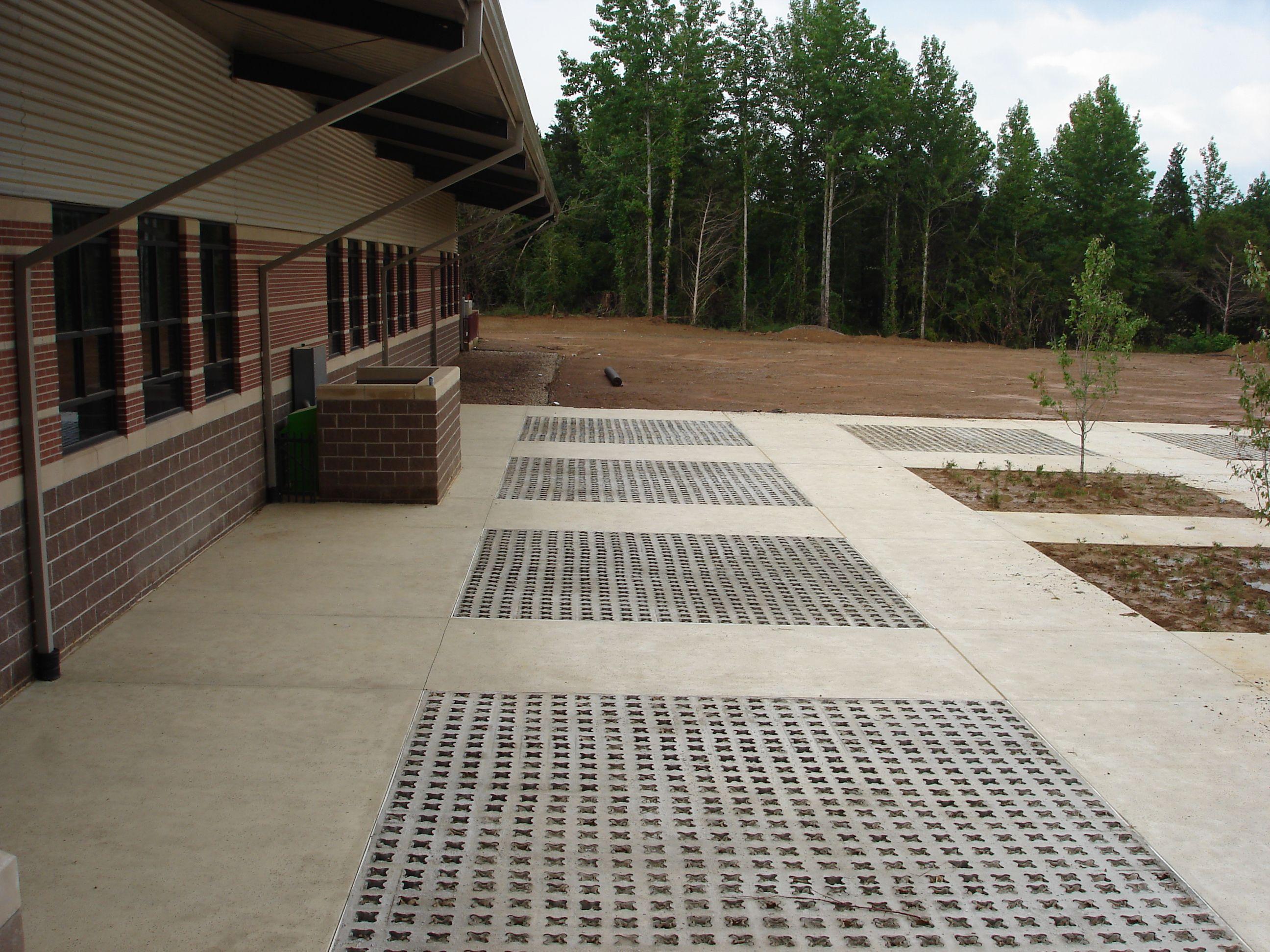 Grasscrete - Wooster Elementary School