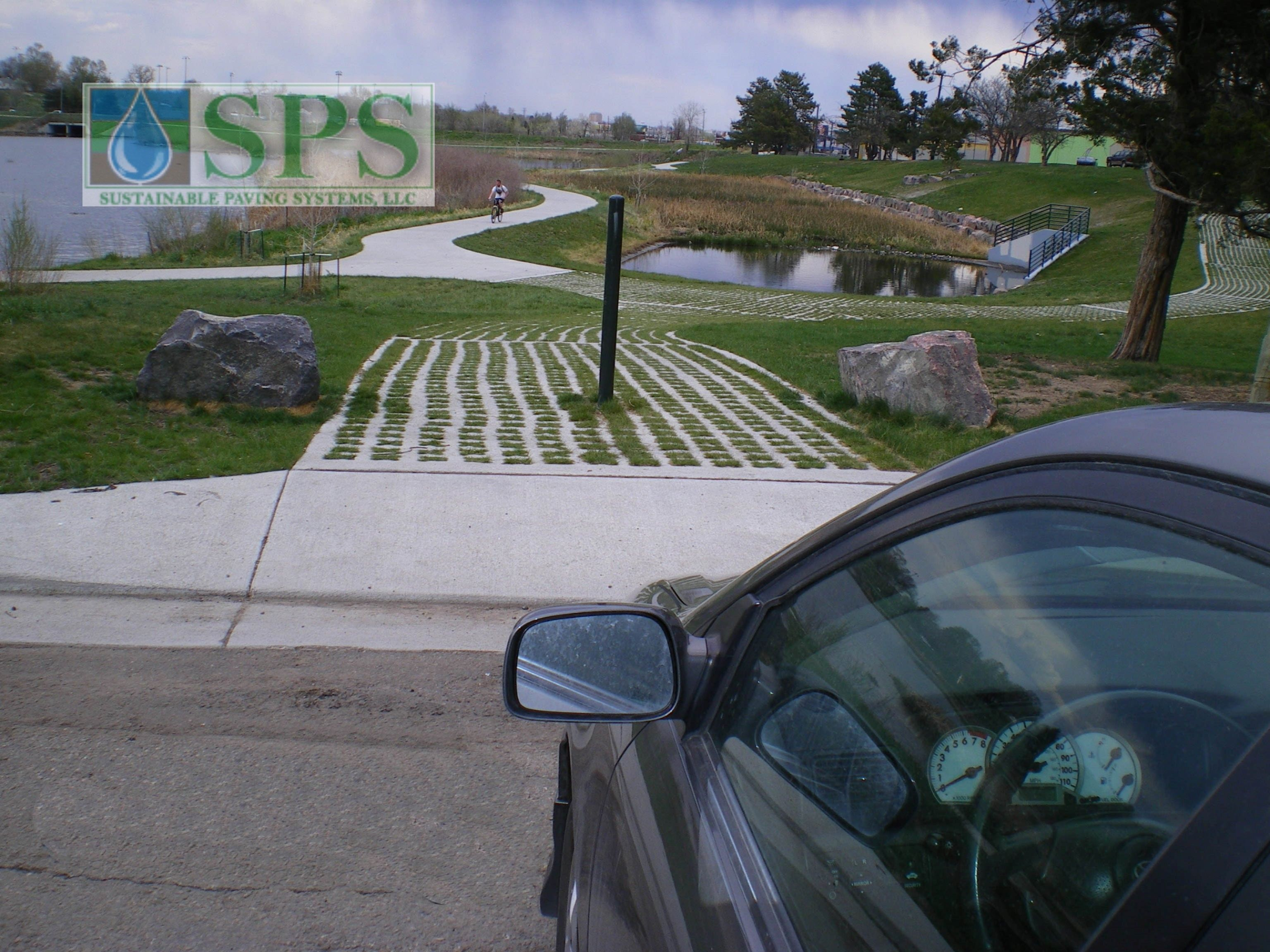 Featured here is Grasscrete that is constructed with Molded Pulp Formers and can be utilized as a stabilizer for seasonal runoff or storm water channeling while preserving the aesthetic and maximizing function.