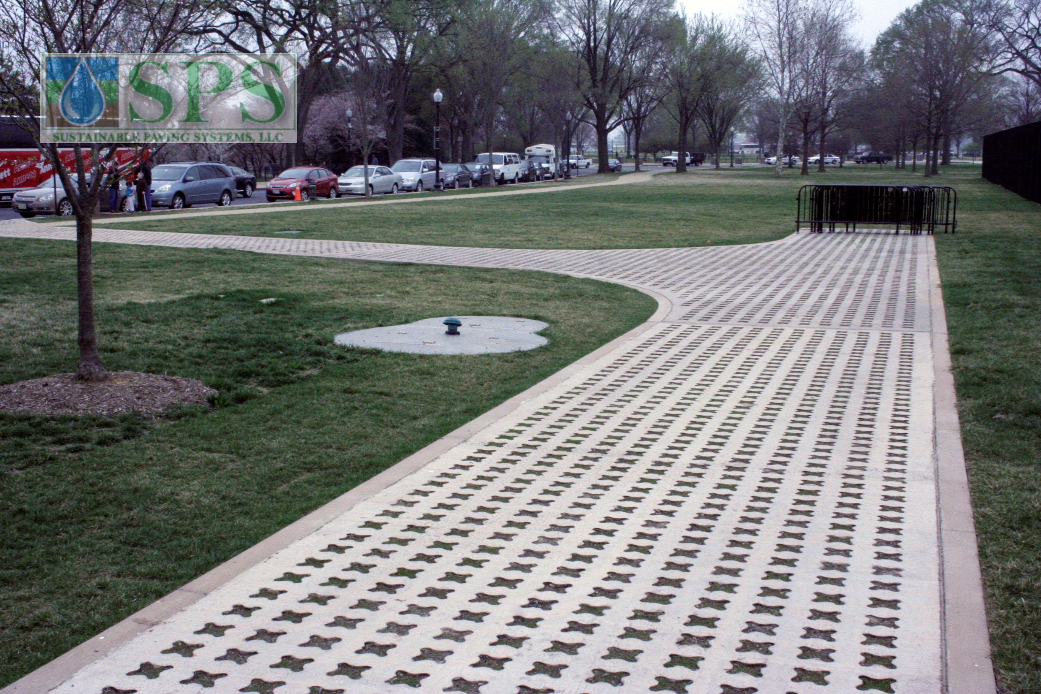 Grasscrete Mlk National Memorial Vehicle Access Partially Conceealed_01