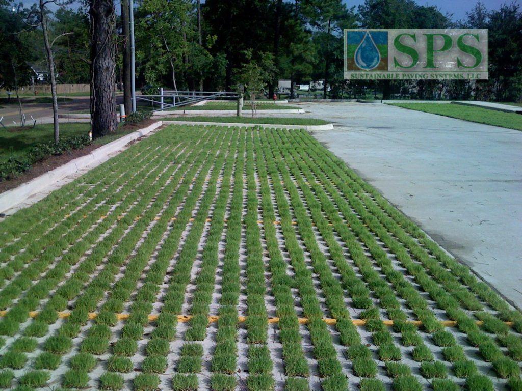 Grasscrete Partially Concealed