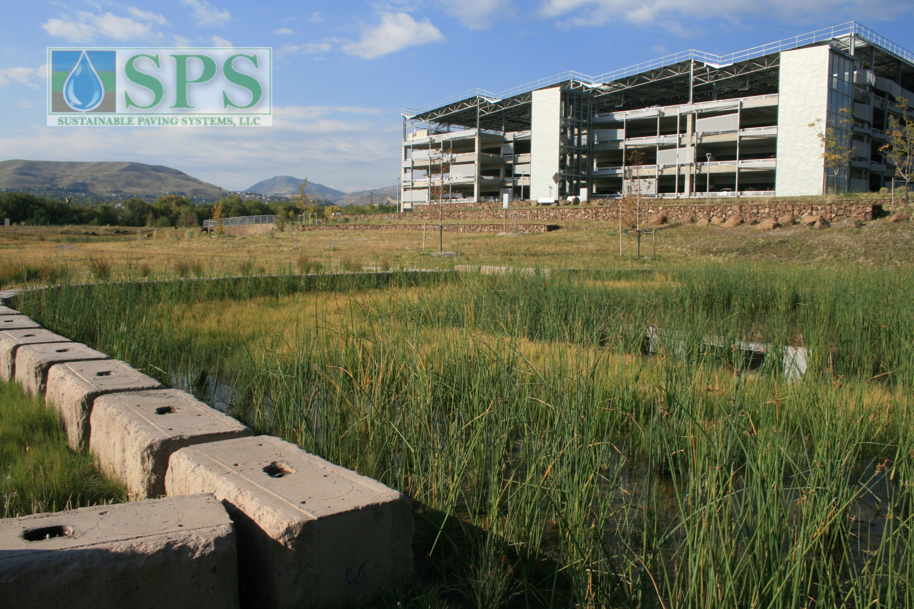 Grasscrete Partially Concealed System At Nrel Detention Pond_01