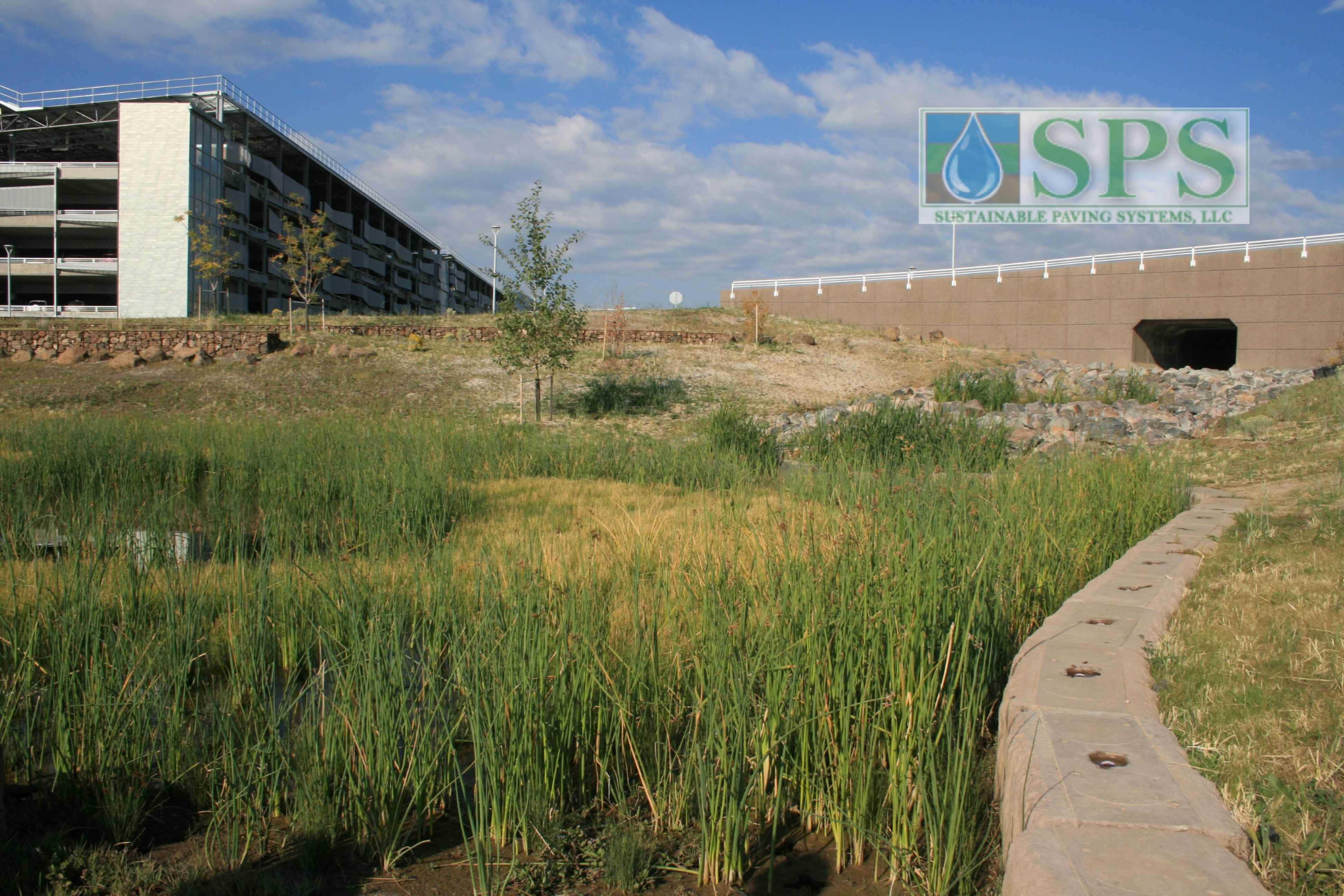 Grasscrete Partially Concealed System At Nrel Detention Pond_02