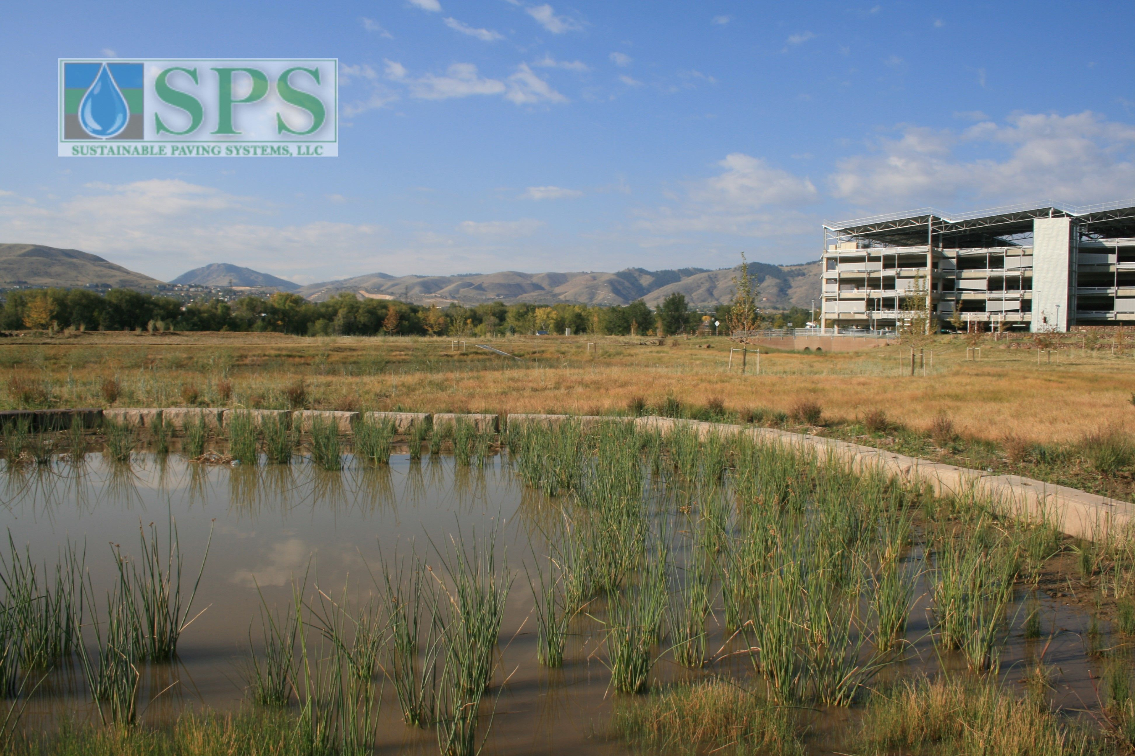 Grasscrete Partially Concealed System At Nrel Detention Pond_04