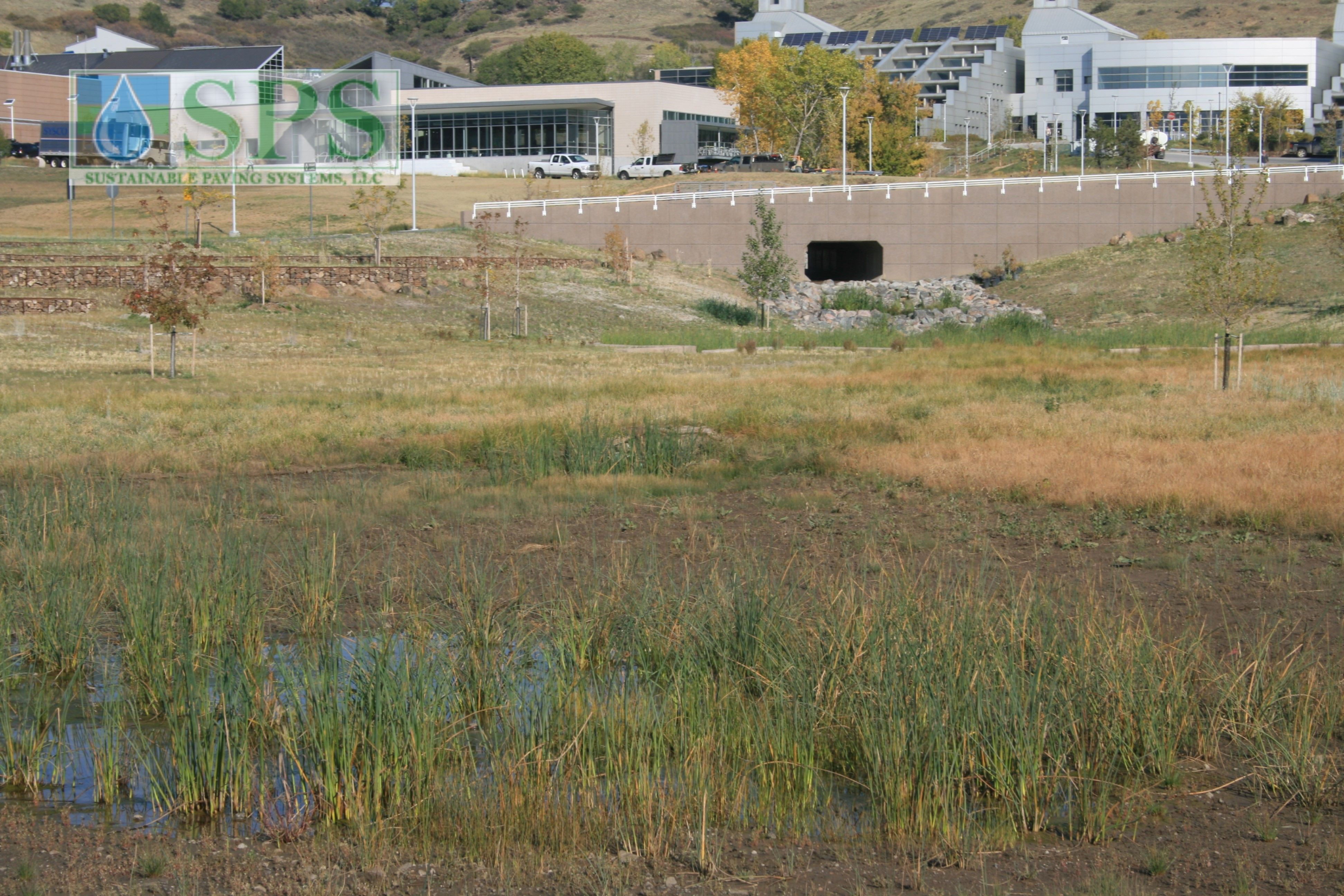 Grasscrete Partially Concealed System At Nrel Detention Pond_05