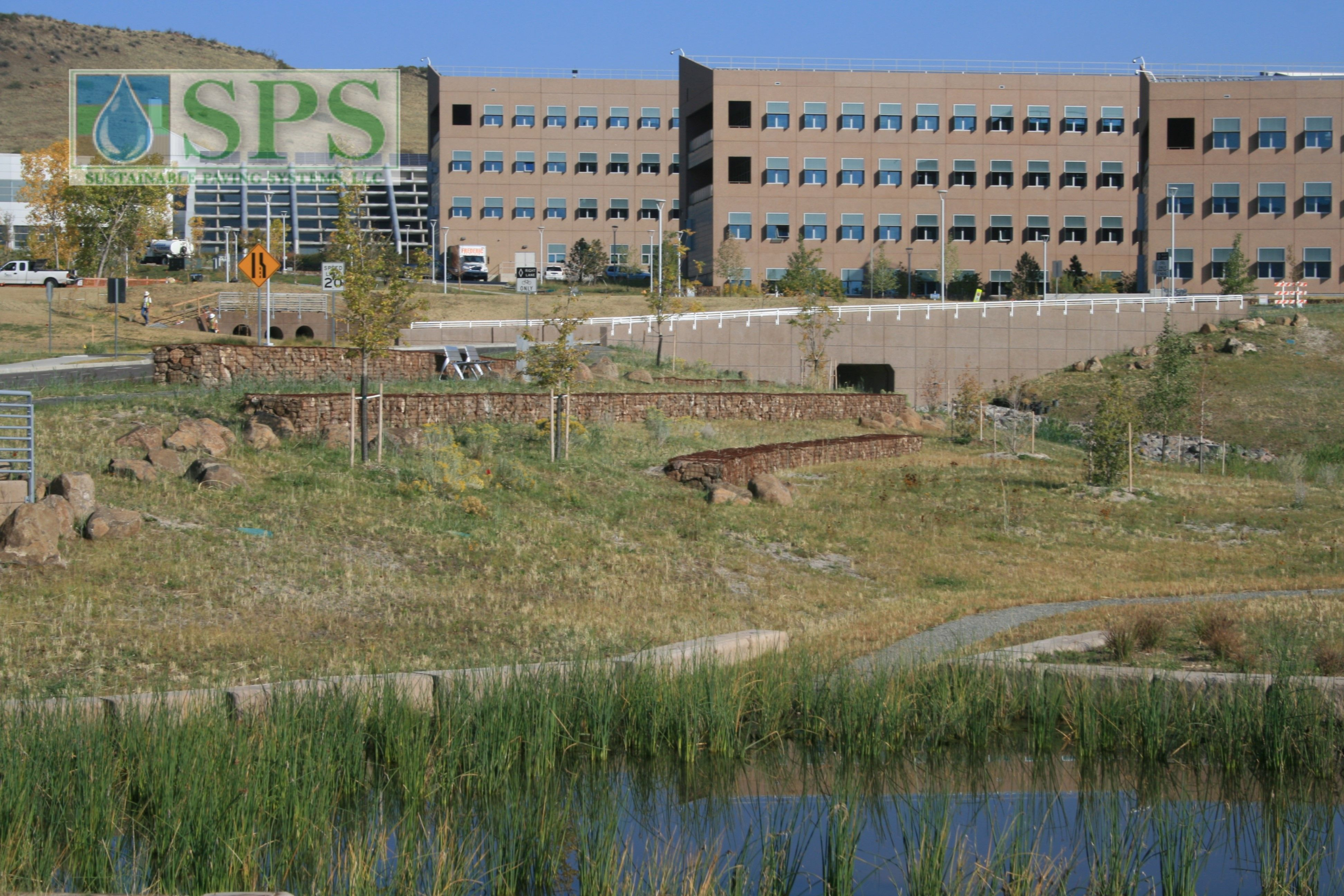 Grasscrete Partially Concealed System At Nrel Detention Pond_06