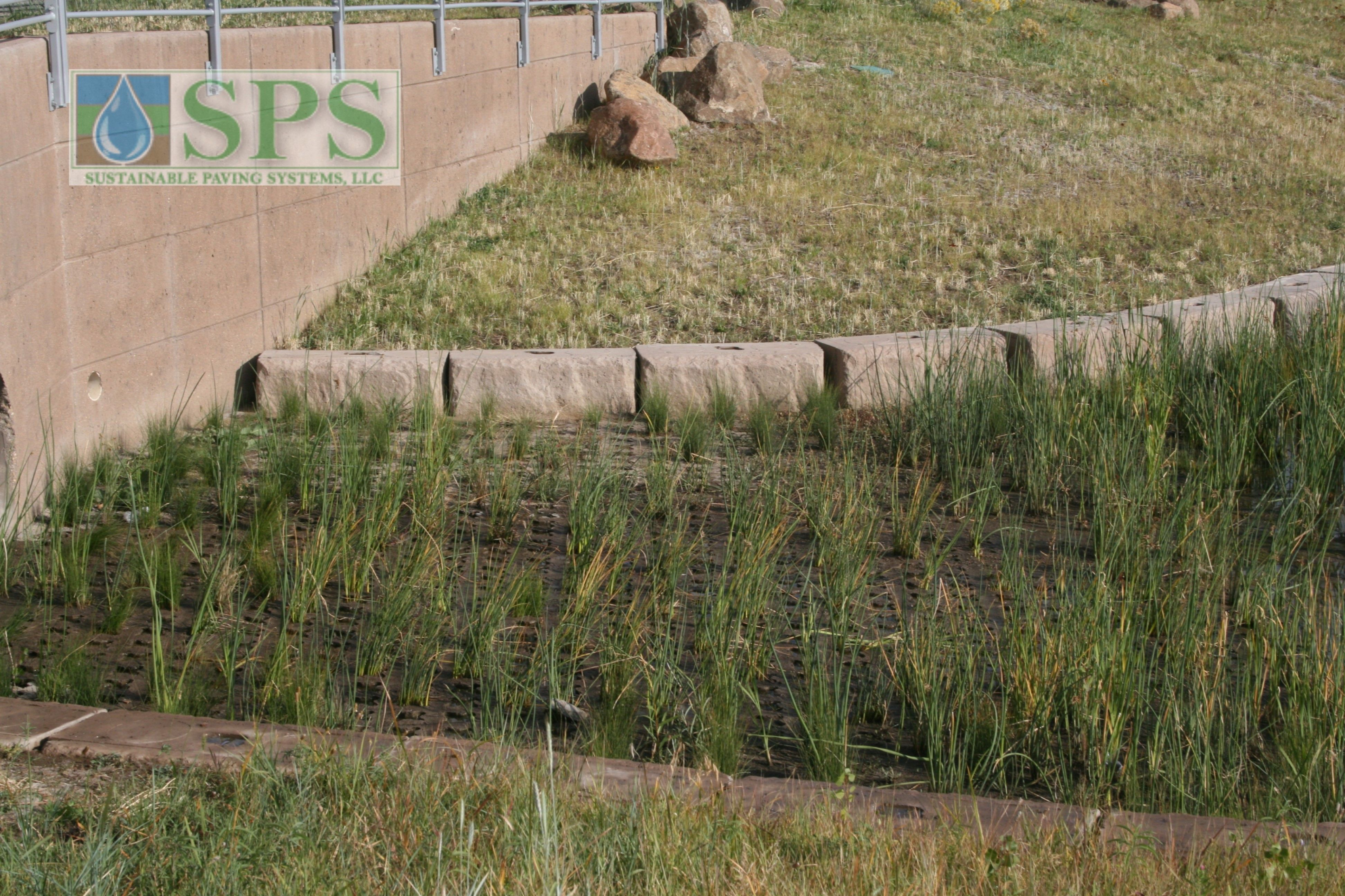 Grasscrete Partially Concealed System At Nrel Detention Pond_08