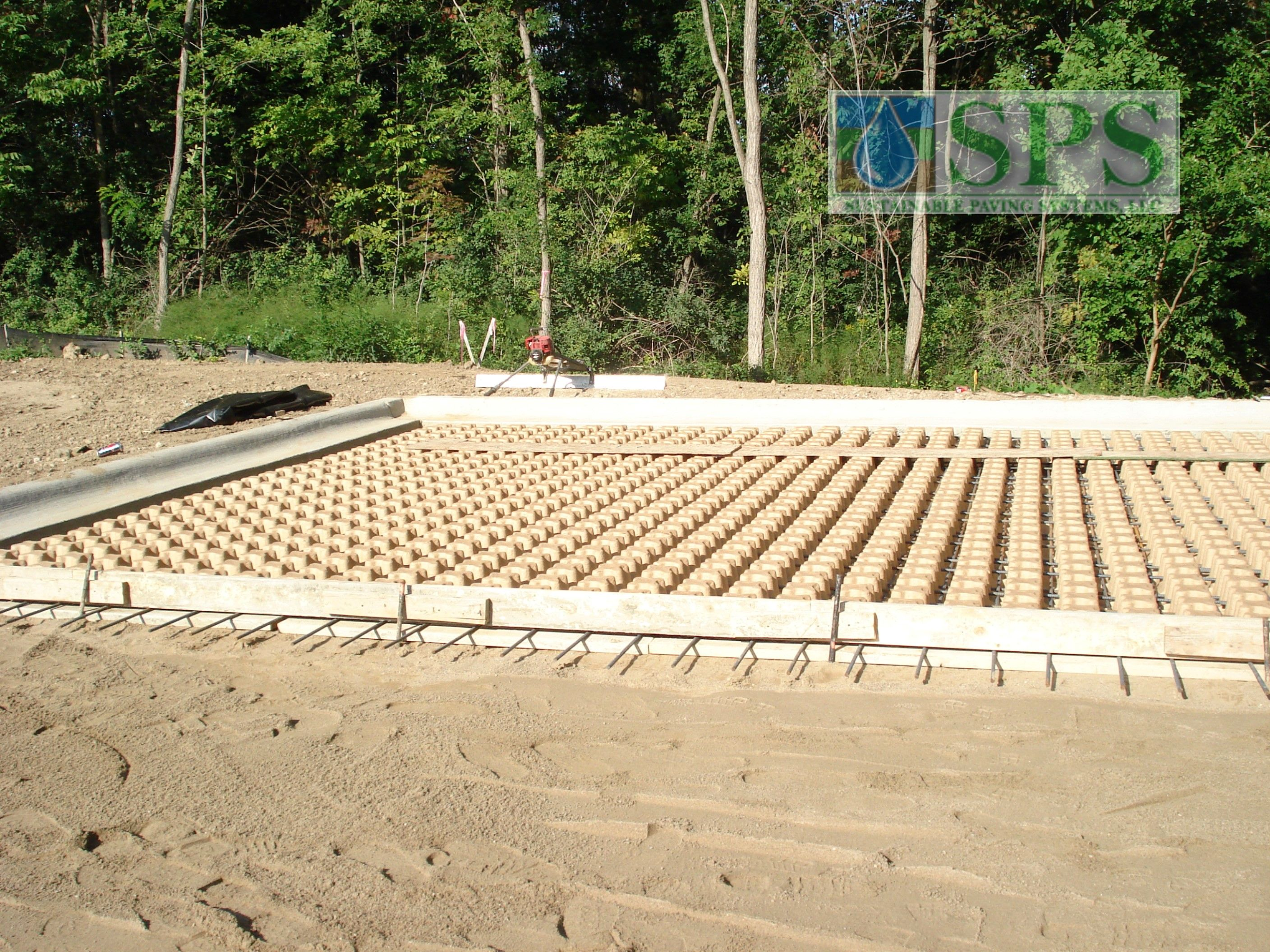 Grasscrete Stone Filled System At Regency Skilled Nursing Facility View Of Emergency Vehicle Access_21