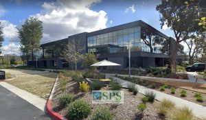 Grasscrete Parially Concealed Pervious Concrete Systems of Sustainable Paving Systems is a beautiful and durable solution to the emergency vehicle access needs of this office complex in Ivine, CA.